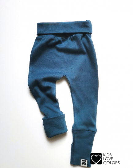 Foot Cover Pants blue