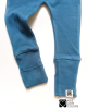 Foot Covers baby Pants blue